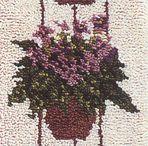 Latch Hook Rug Kits Floral