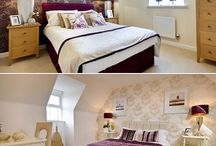 Purple Interior Design Inspiration / Here are a selection of photos from just some of our fantastic purple themed rooms. To see our full list of developments please visit www.bovishomes.co.uk
