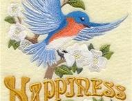 Blue Bird of Happiness / by Juanice Nicholson