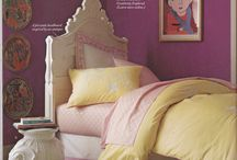 Parrish Street Girl's Bedroom / Interior Design for 6-year-old girl's bedroom.   Inspired by pink lemonade. / by Amy Cuker