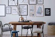 Muurdecoratie huiskamer