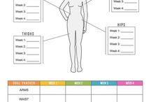 Fitness& Health  Progress trackers