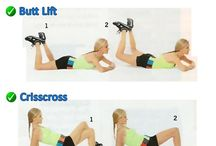 Exercise / Workout ideas / by Jen Brassanini