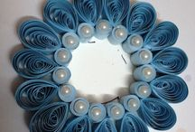 Quilling lysestager