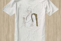 Mushishi Anime Tshirt