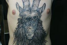 goat/ram tattoo