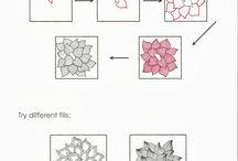 Zentangle - tangles