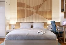 Beautiful Examples Of Bedroom Accent Walls That Use Slats To Look Awesome