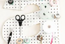 PEGBOARD / Using pegboards to stay organized in style.