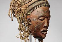 Afrique tropique sud - masques / Masques d'Afrique du Sud: Angola, Zambie, Mozambique etc