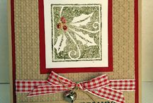 Scraping: Christmas Cards & Tags