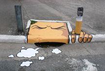 street art/utca művészet/