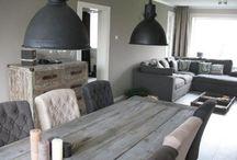 Sfeer met stoere lampen / De stoerste lampen bij mensen thuis! Stoere sfeer in de woonkamer, keuken of slaapkamer