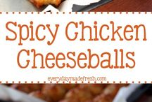 Chicken spicy balls