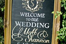Wedding boards
