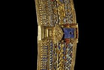 Ancient Jewelry, Makeup & Fashion / Jewelry, Makeup & Fashion from the ancient world: Mesopotamia, Egypt, etc.
