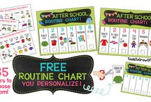 kids routines charts