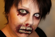 Zombie makup