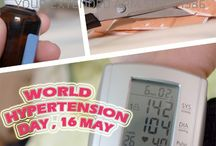 17 May World Hypertension Day / Each year since 2006 on May 16-17th, the World Hypertension League (WHL), in close partnership with the International Society of Hypertension (ISH) and other organizations, has hosted World Hypertension Day (WHD).  For the five-year period 2013-2018, the theme of WHD will be 'Know Your Numbers' with the goal of increasing high blood pressure awareness in all populations around the world.