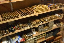 My fantasy man cave cigar room / Smoking...!