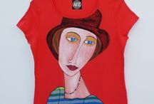 Malba na textil / malovaný textil : trička, tuniky, mikiny, tašky