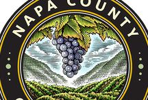 Napa County Seal Illustrated by Steven Noble
