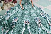 Doll - Crochet dress