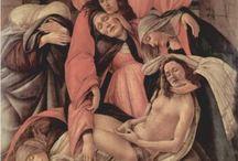 Botticelli ☆ / Alessandro di Mariano di Vanni Filipepi, dit Sandro Botticelli, est un peintre italien né à Florence à une date située entre le 1ᵉʳ mars 1444 et le 1ᵉʳ mars 1445 et mort le 17 mai  1510, à Florence  Renaissance italienne, Renaissance, École florentine