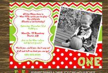 Invitations / save the dates