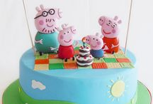 Pepper pig cake ideas