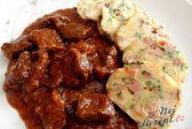 hovězí maso recepty