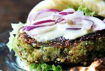 Quinoa e ceci burger