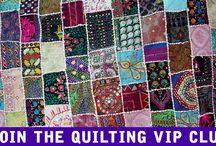 Quilting VIP Club / Quilting VIP Club - Meet other Quilters, get beautiful Quilt patterns, learn from Quilting experts and much more.