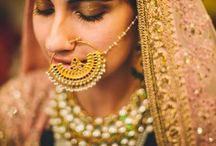 Indian Bridal Nose rings - Nath designs