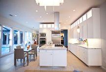 Kitchen Remodel by Nicole Bruno Marino / Memorial area kitchen remodel.  Cabinet Design by: Nicole Bruno Marino