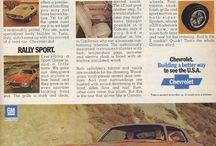 Camaro Prospekte 70-73