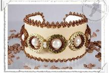 braceletes bordados