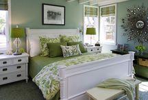 Bedroom Greeny / I wanna paint my bedroom green