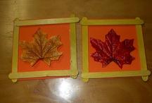 "Oct. ""Fall Theme"" Art Class / by Jackie Attaway"