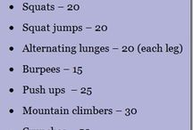 workouts / by Kristy Green