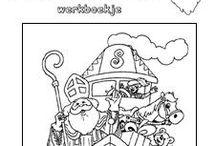 Sinterklaas / Werkbladen voor Sinterklaas