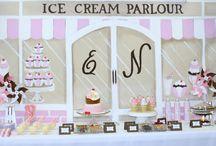 Mariage - Candybar & buffet / Inspiration buffet des desserts, bar à bonbons ! Wedding - Candybar & buffet / by Artesa Créations