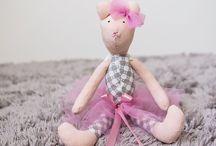 Dla dzieci / Stylowe zabawki-przytulanki