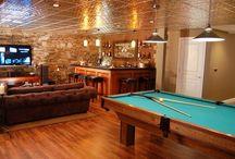 Basement bar/game room ideas