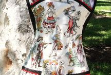 Kitchen Couture / Aprons of all styles, sizes, colors and patterns. Not your grandma's aprons!