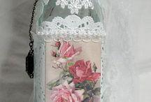 Altered bottles/jars
