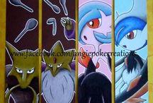 Marque-Pages Pokemon Dessin