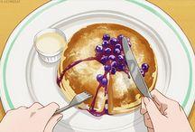 Art Anime Food
