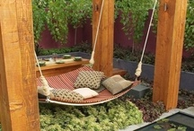 swings, outdoor seating and ideas / by Lora Hayes-Albert