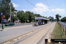 Budapest - Straßenbahnhaltestellen / Sie sehen hier eine Auswahl meiner Fotos, mehr davon finden Sie auf meiner Internetseite www.europa-fotografiert.de.